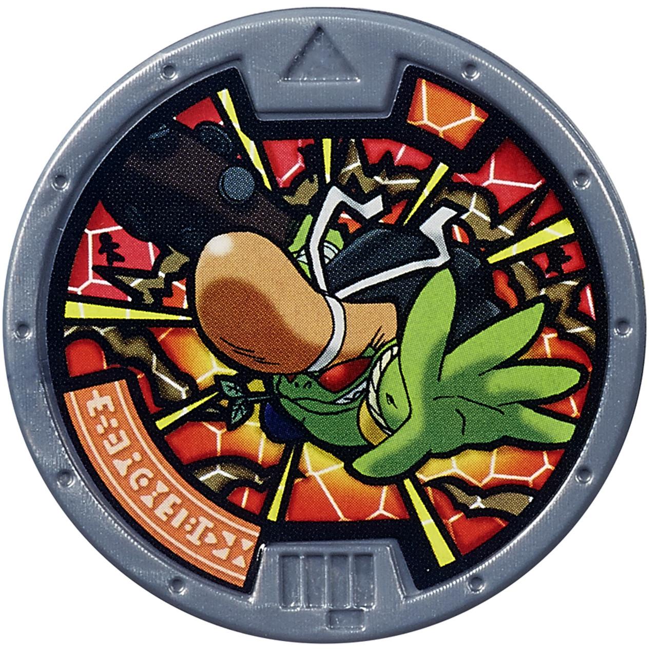 Yo kai watch series 1 badude medal loose hasbro toys toywiz for Decoration yo kai watch