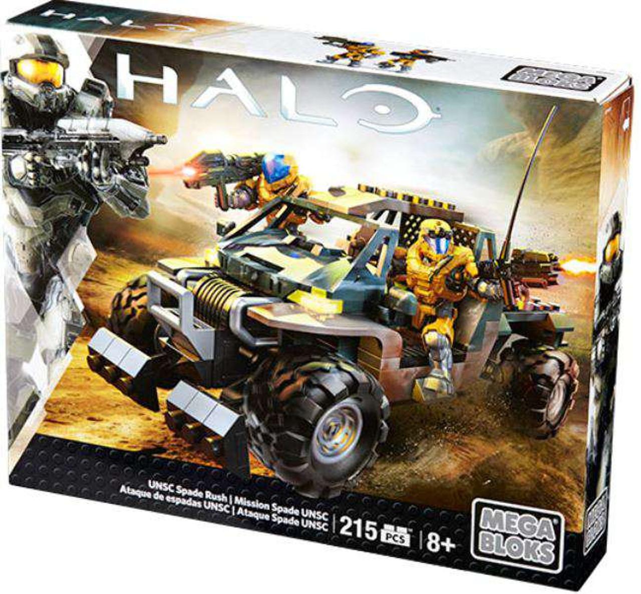 Mega Bloks Halo UNSC Spade Rush Set #32730