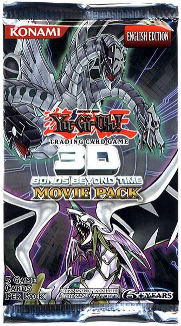 YuGiOh 3D Bonds Beyond Time Booster Pack