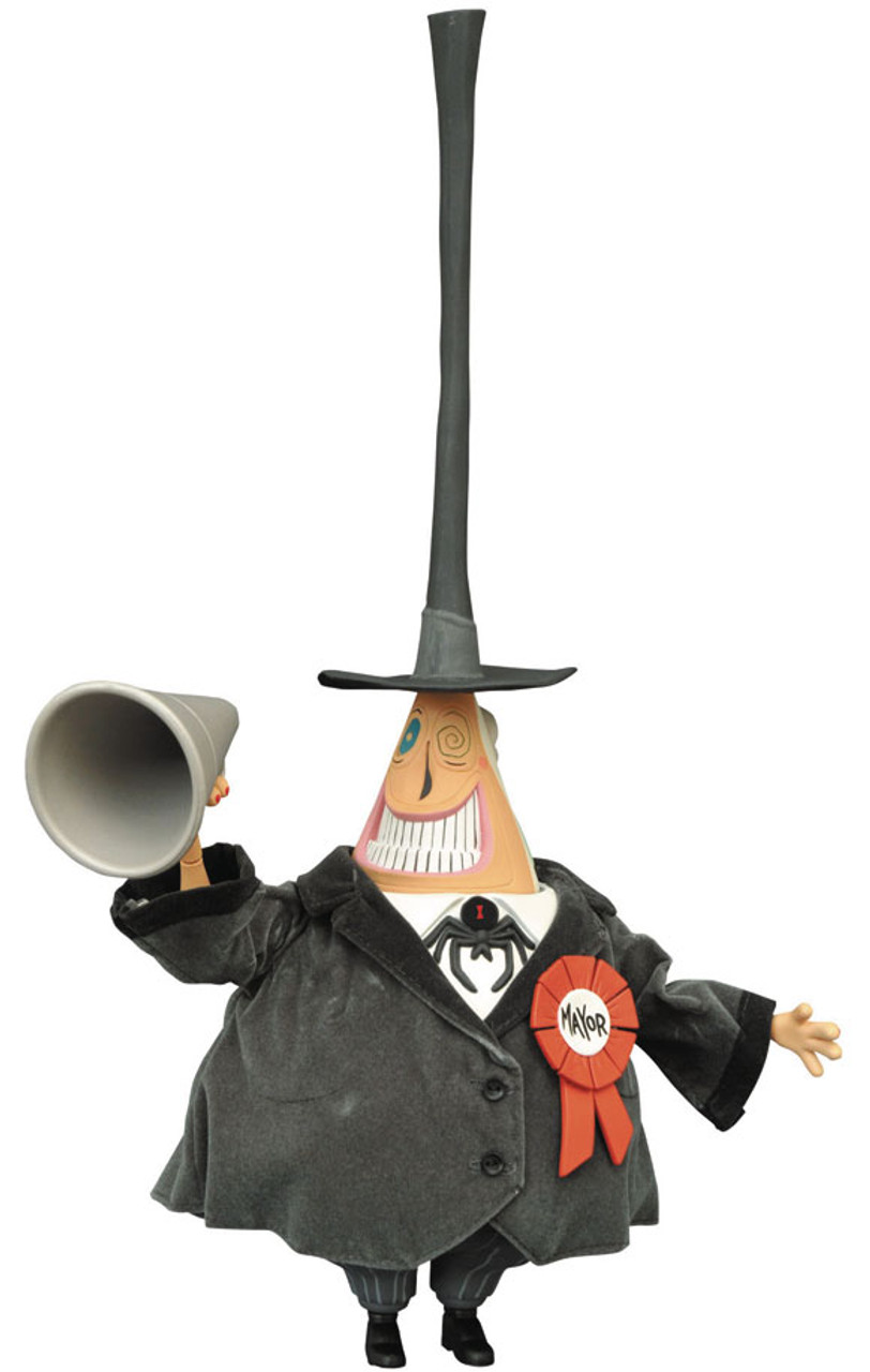 The Nightmare Before Christmas Mayor 6 Deluxe Cloth Doll Diamond ...