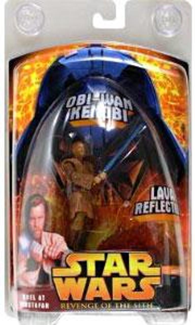 Star Wars Revenge of the Sith 2005 Duel at Mustafar Obi-Wan Kenobi Exclusive Action Figure