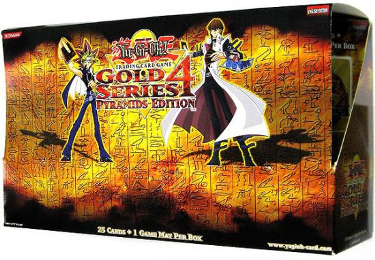 YuGiOh Gold Series 4 2011 Booster Box [5 Packs]