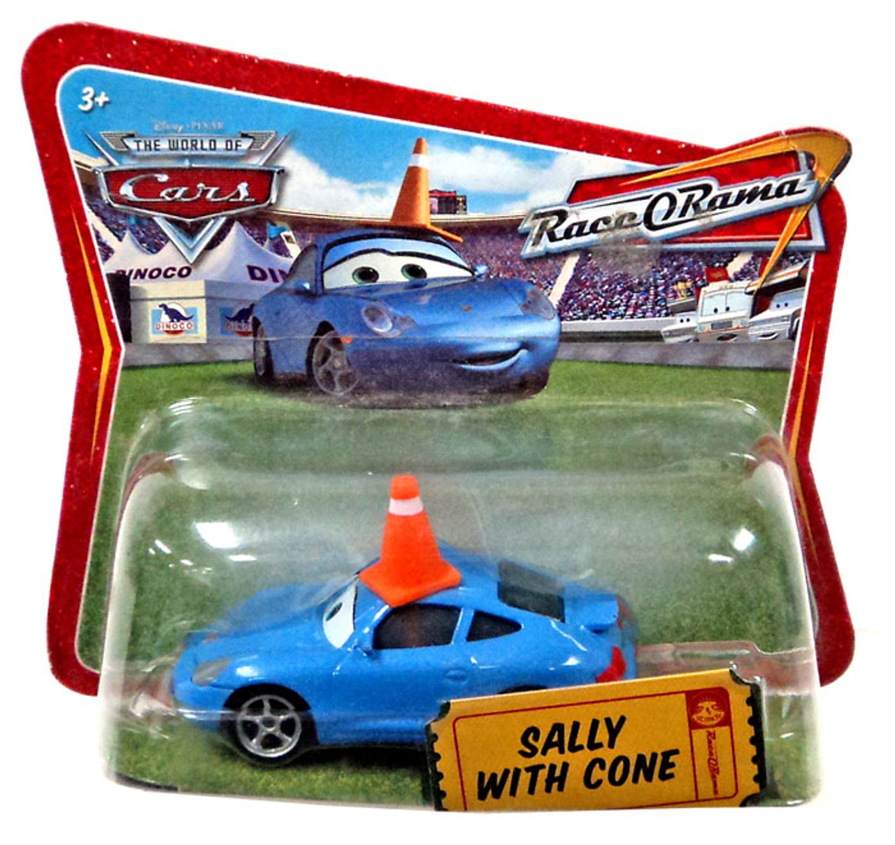 Disney Cars The World Of Cars Race O Rama Sally With Cone