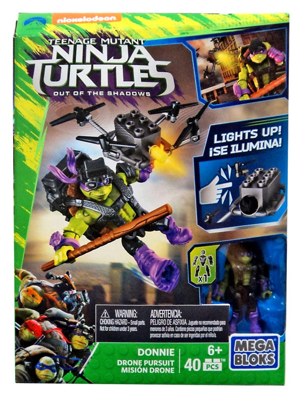 Mega Bloks Teenage Mutant Ninja Turtles Out Of The Shadows