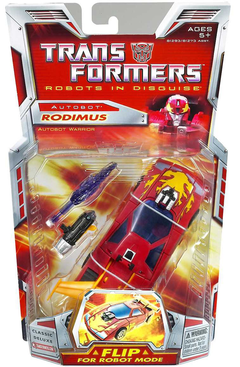 Transformers Robots in Disguise Classics Deluxe Rodimus Deluxe Action Figure