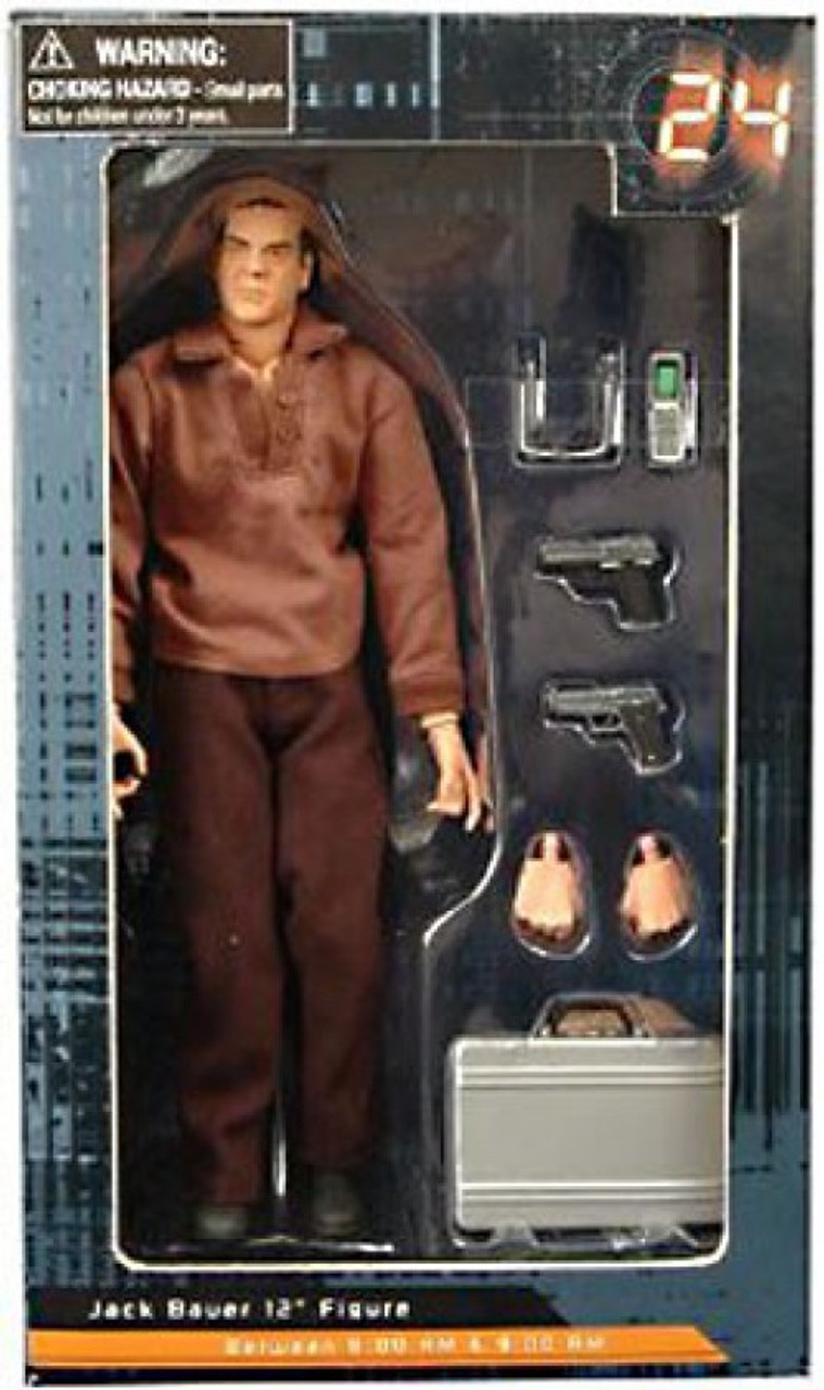 24 Jack Bauer 12 Inch Action Figure [8:00 AM]
