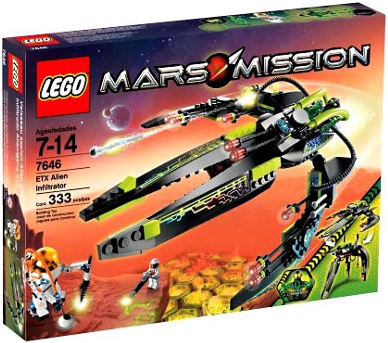 LEGO Mars Mission ETX Alien Infiltrator Set #7646