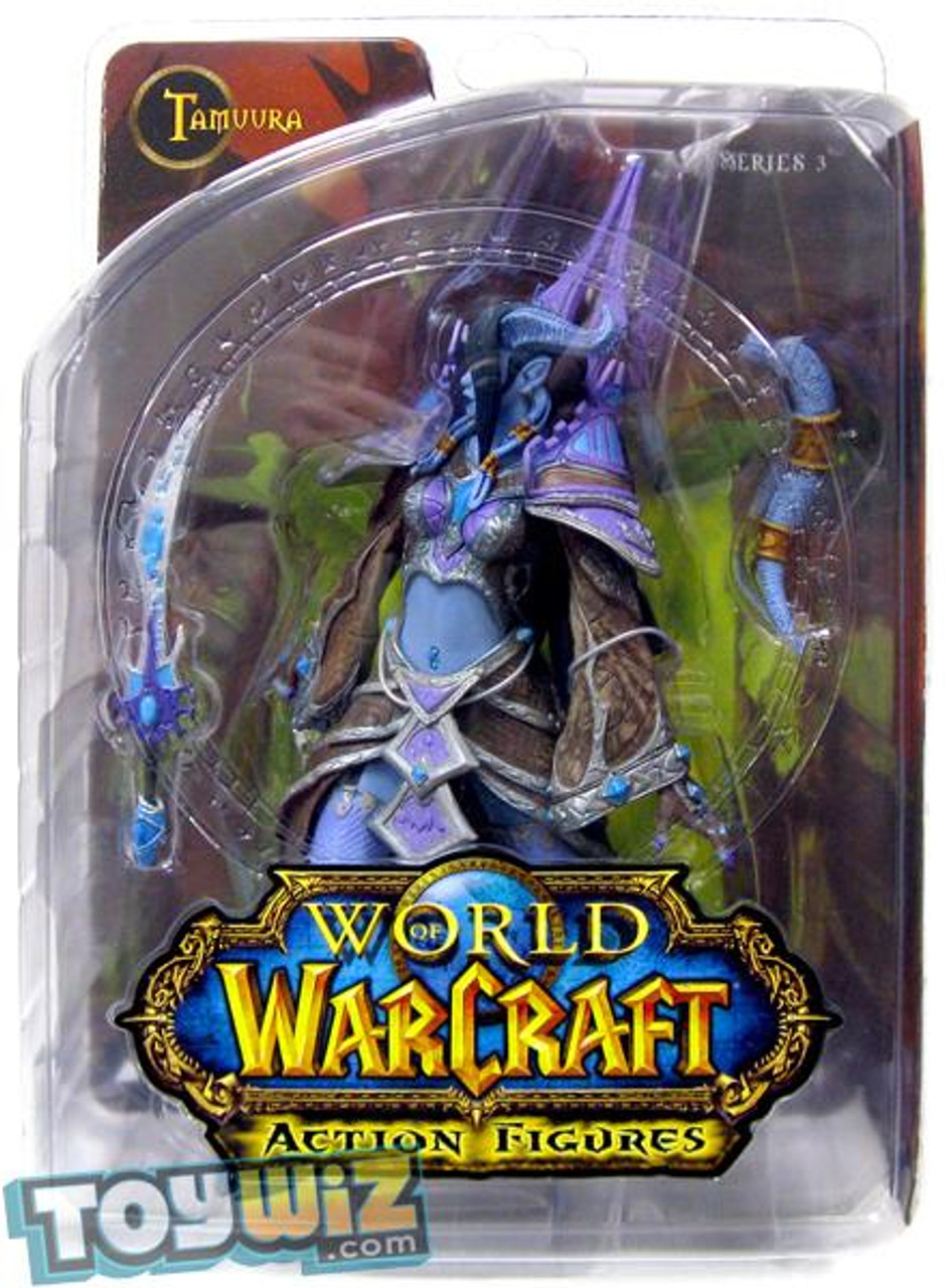 World of Warcraft Series 3 Tamuura Action Figure [Draenei Mage]