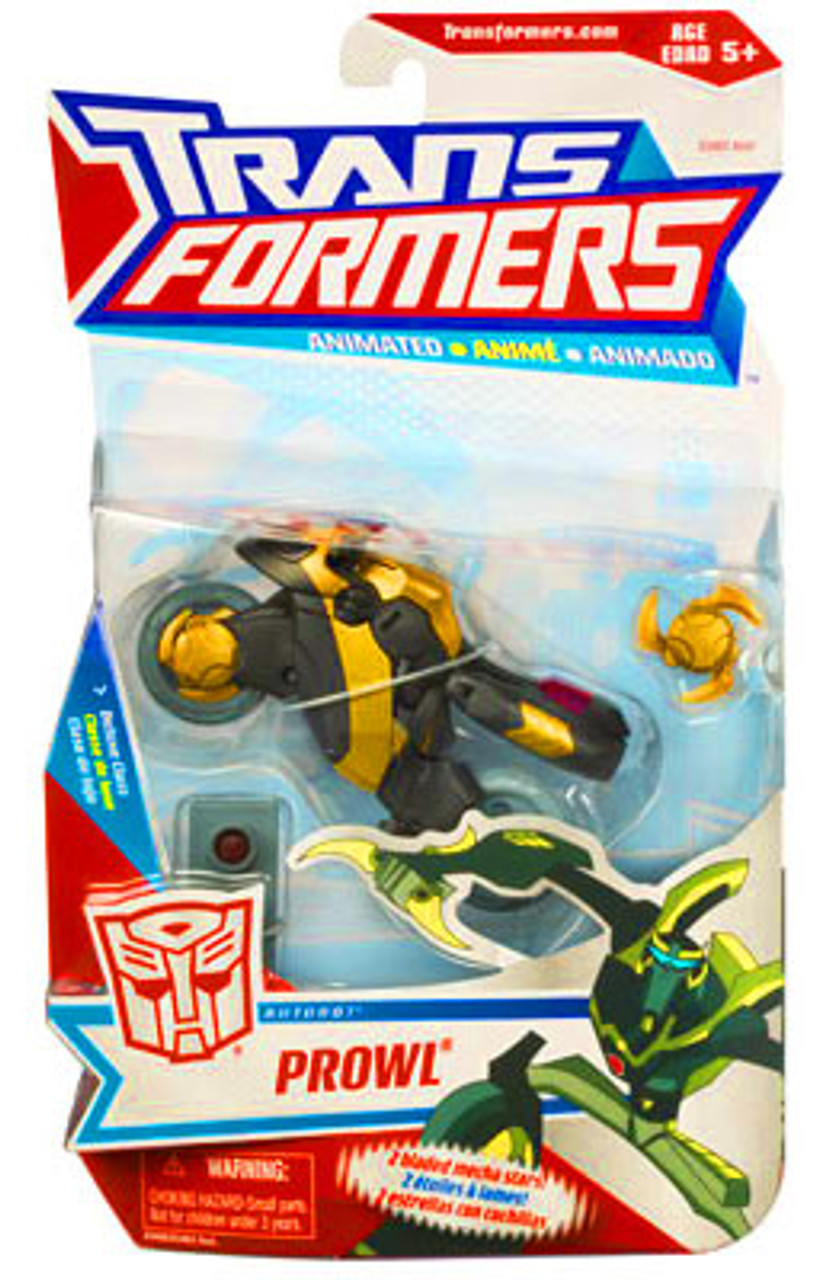 Transformers Animated Deluxe Prowl Deluxe Action Figure