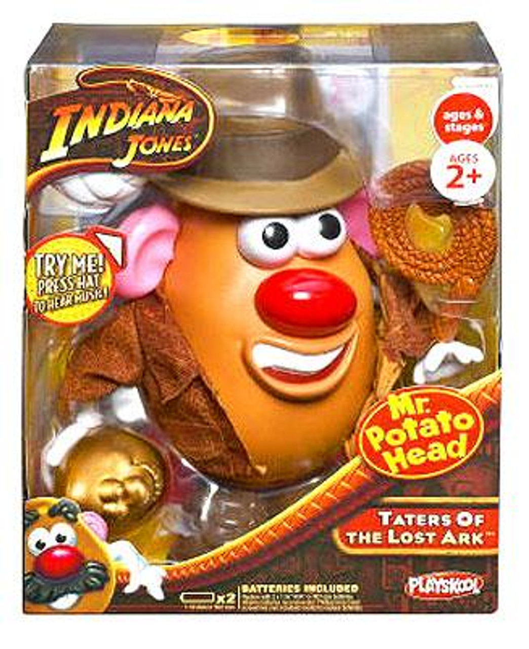 Indiana Jones Taters of the Lost Ark Idaho Jones Spud Mr. Potato Head
