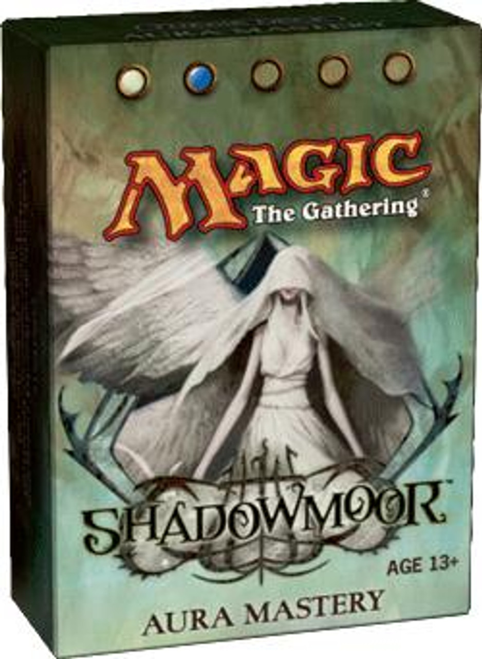 MtG Shadowmoor Aura Mastery Theme Deck [Sealed Deck]