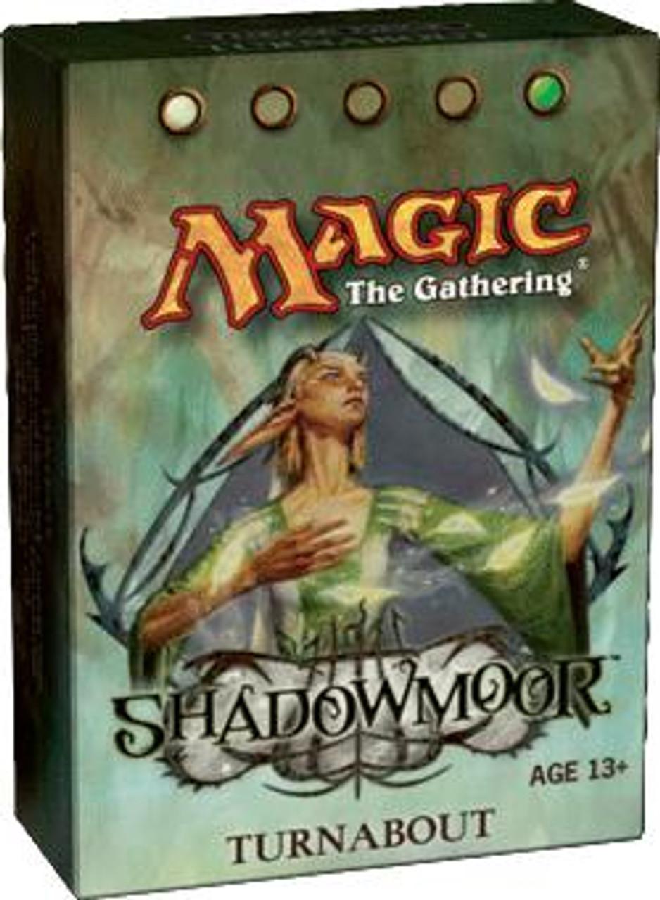 MtG Shadowmoor Turnabout Theme Deck [Sealed Deck]
