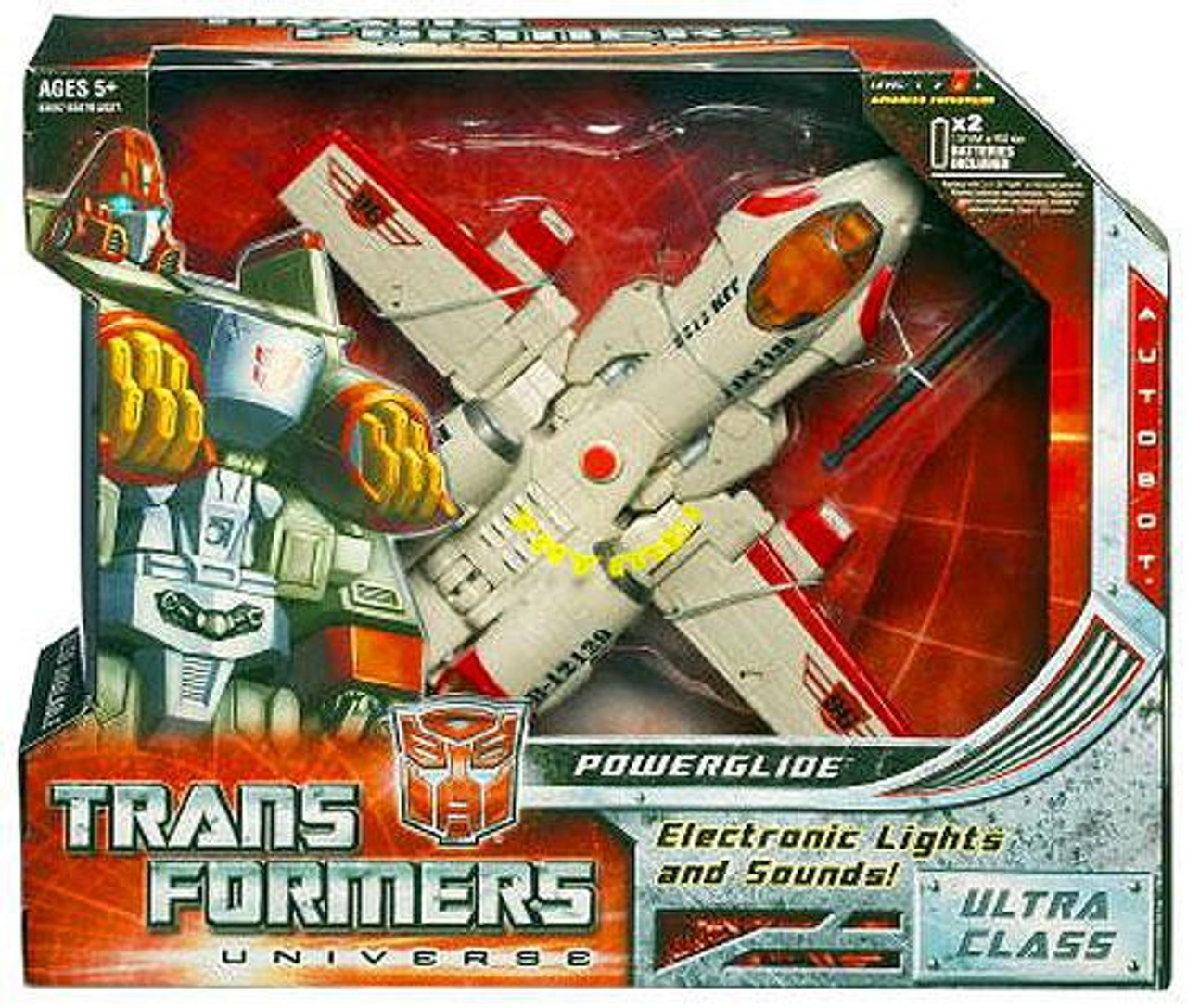 Transformers Universe Ultra Powerglide Ultra Action Figure