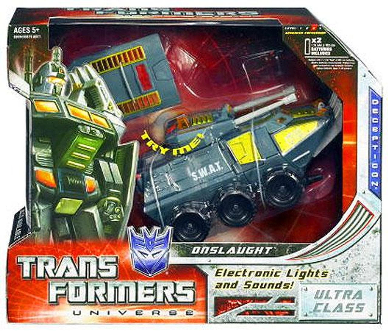 Transformers Universe Ultra Onslaught Ultra Action Figure