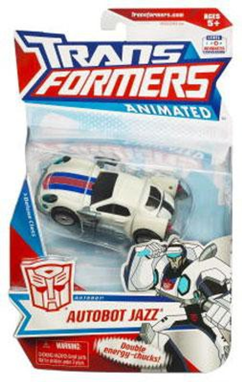 Transformers Animated Deluxe Autobot Jazz Deluxe Action Figure