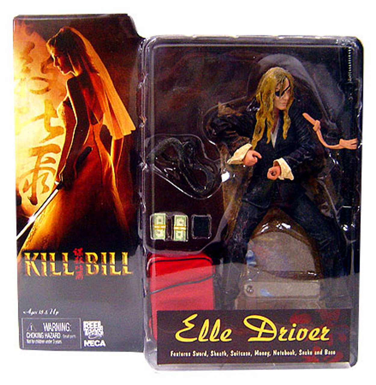 NECA Kill Bill Elle Driver Action Figure