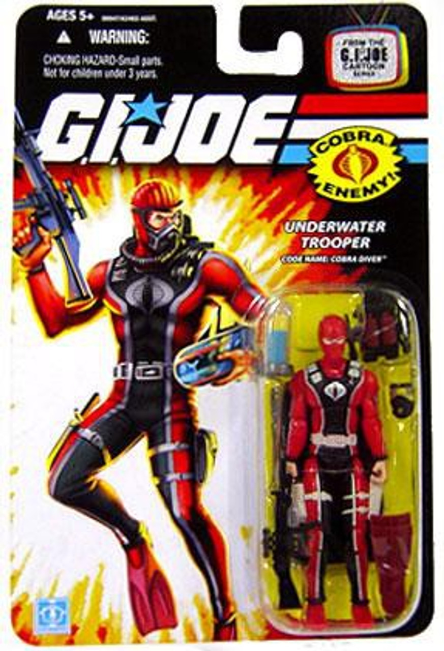 GI Joe Wave 12 Cobra Diver Action Figure