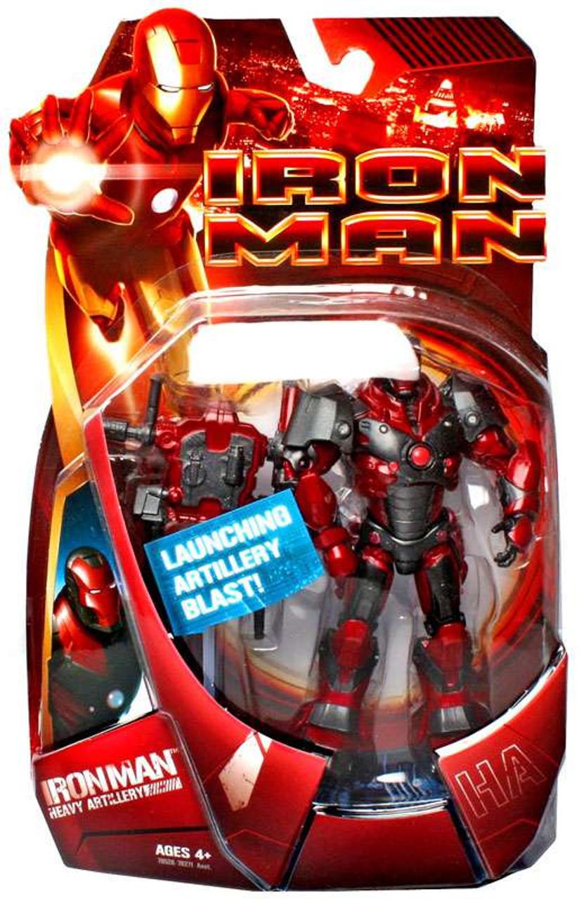 Iron Man Movie Heavy Artillery Iron Man Action Figure