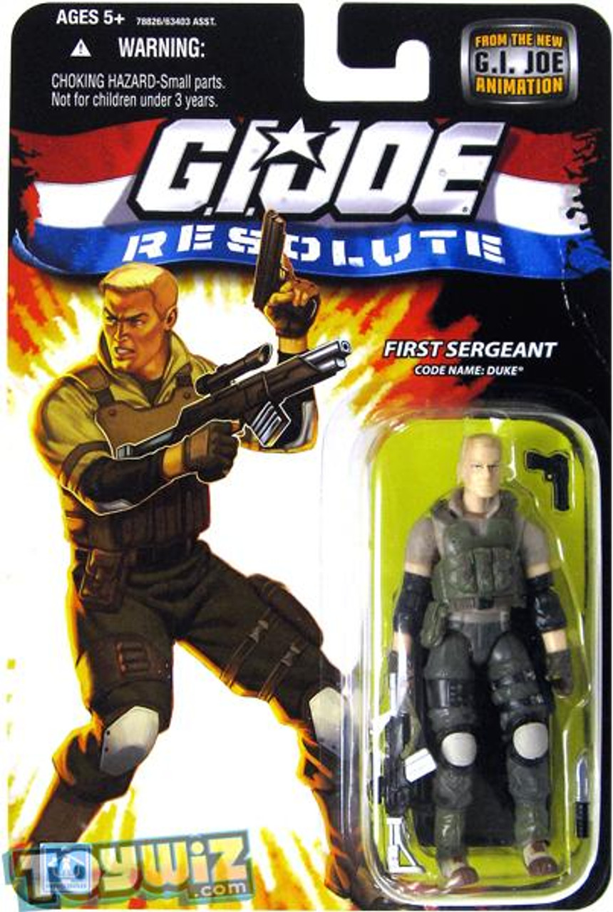 GI Joe Resolute Wave 13 Duke Action Figure