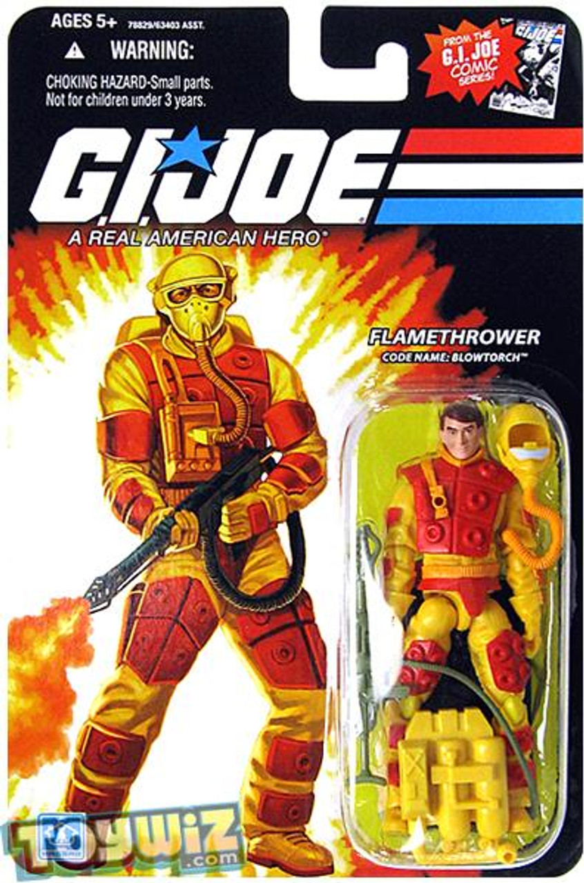 GI Joe Wave 13 Blowtorch Action Figure