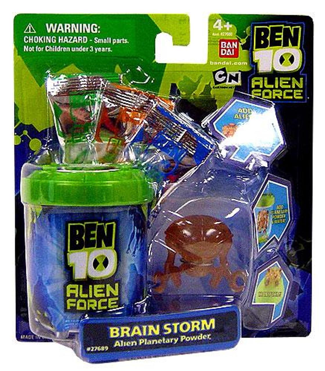 Ben 10 Alien Force Brainstorm Planetary Powder Set