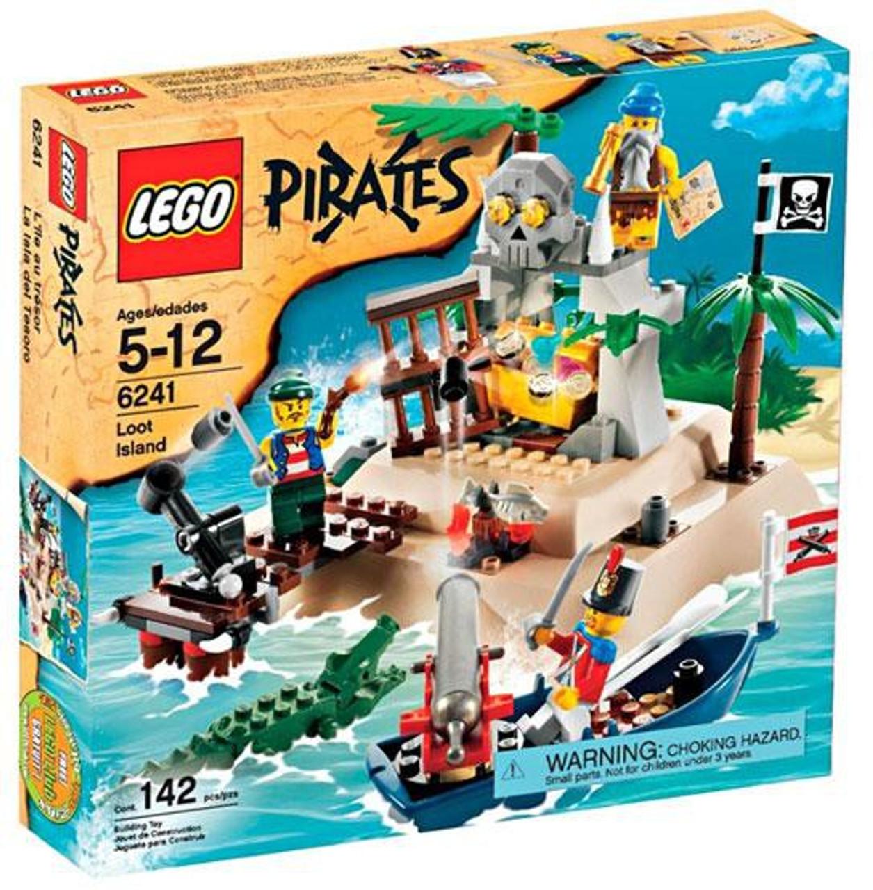 LEGO Pirates Loot Island Set #6241