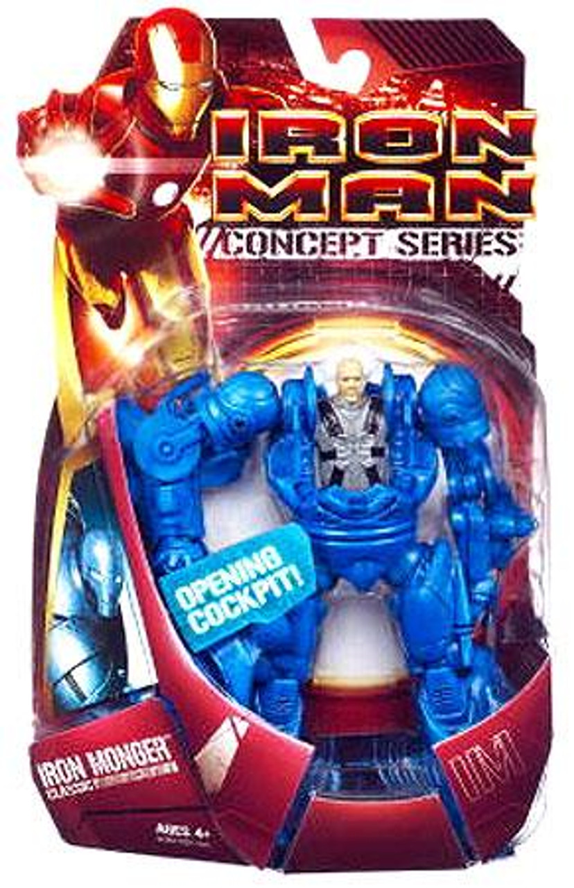 Iron Man Concept Series Classic Iron Monger Action Figure