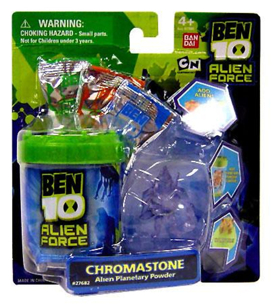 Ben 10 Alien Force Chromastone Planetary Powder Set