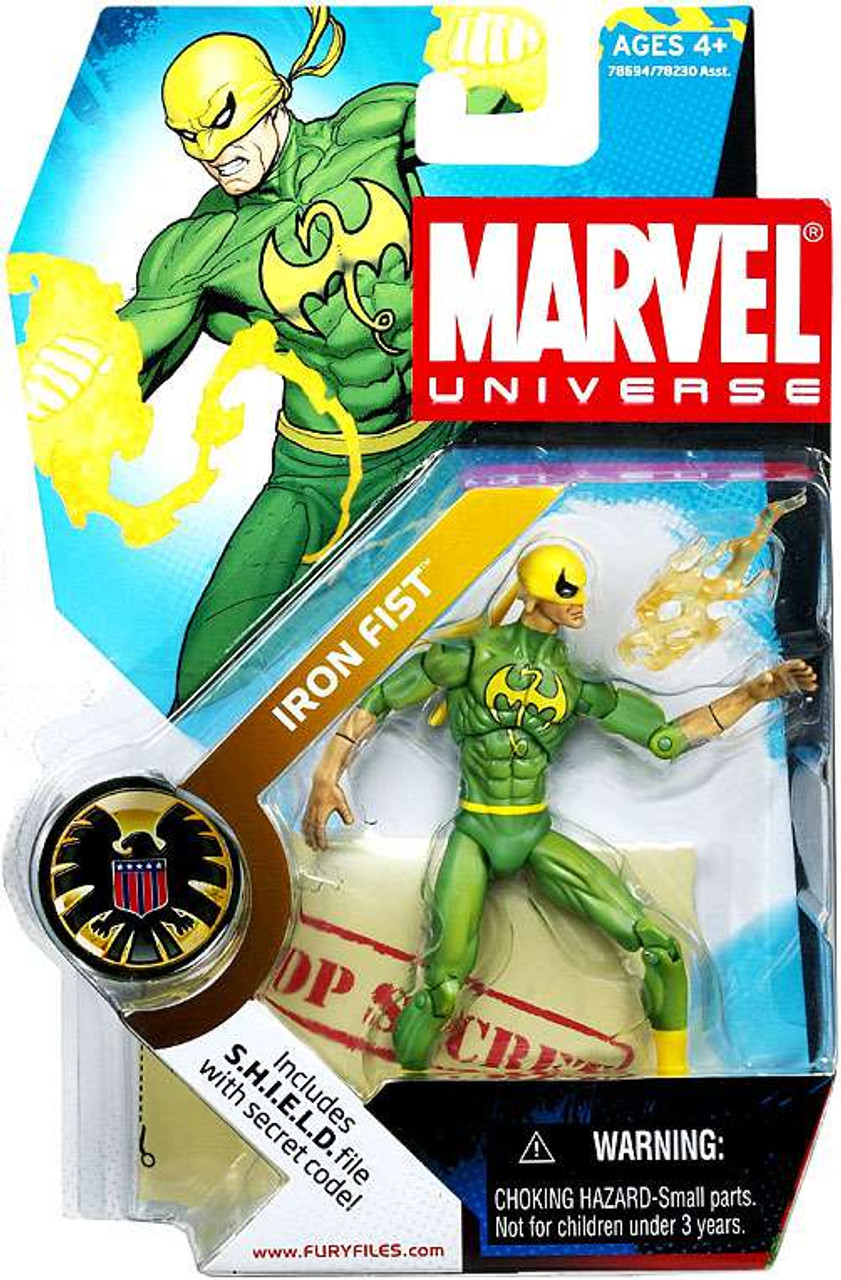 Marvel Universe Series 2 Iron Fist Action Figure #17