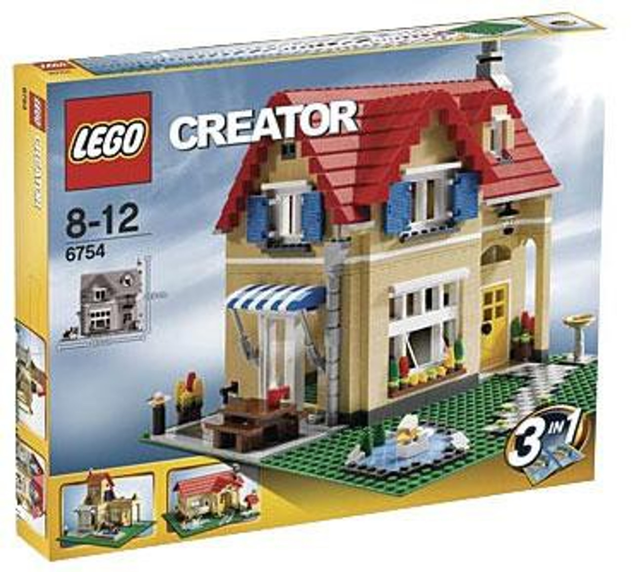 LEGO Creator Family Home Set #6754
