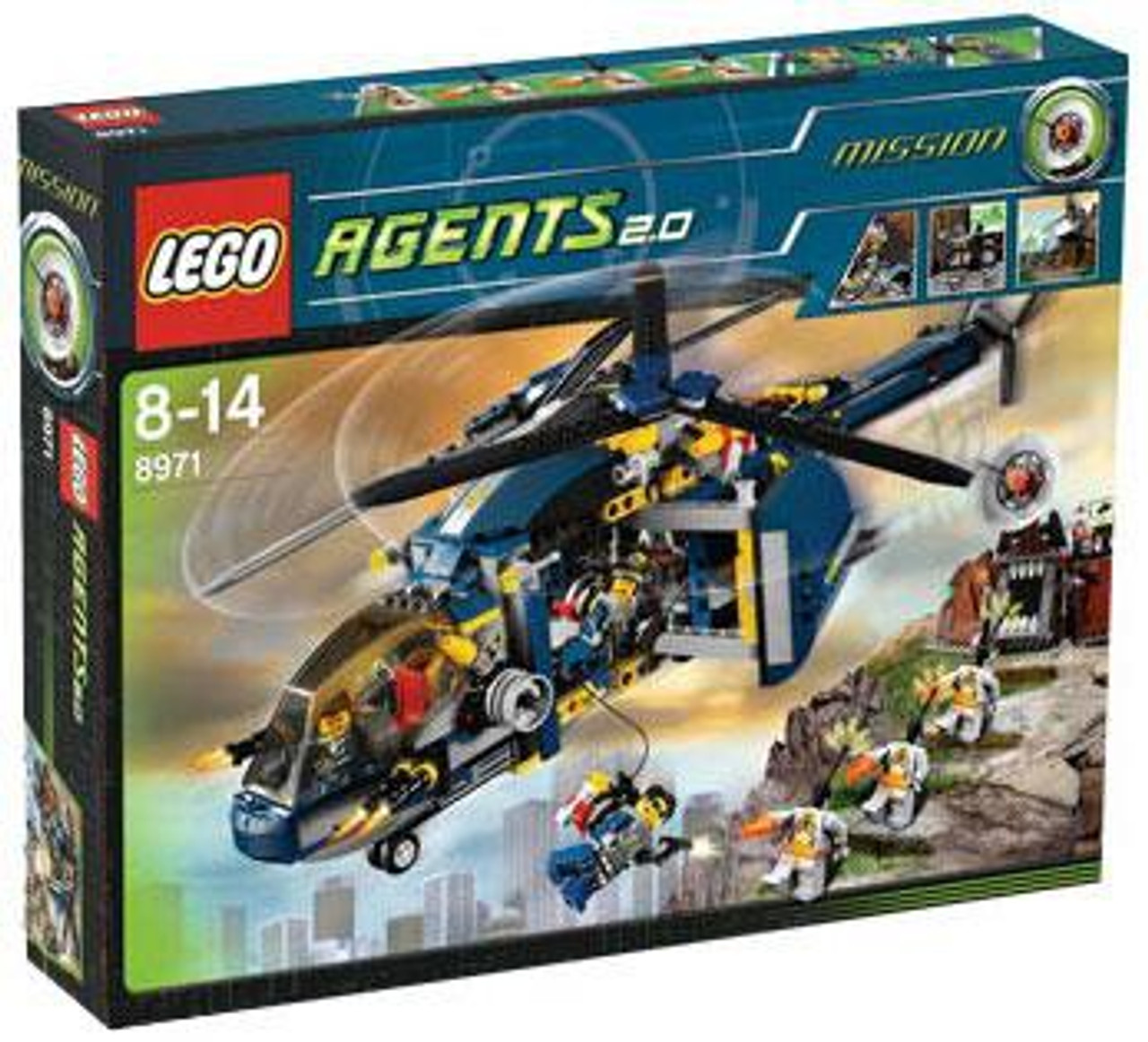 LEGO Agents Aerial Defense Set #8971