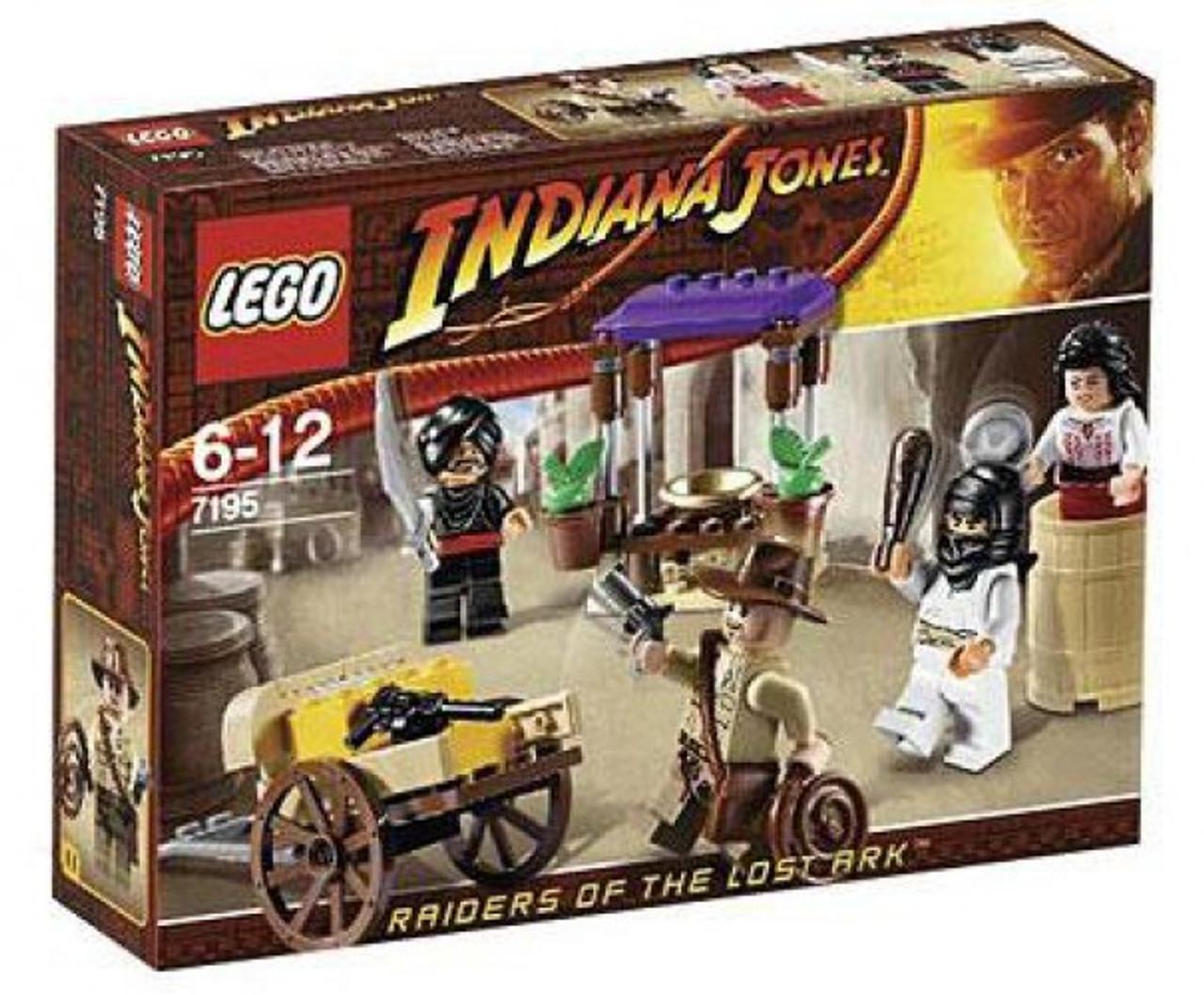 LEGO Indiana Jones Ambush in Cairo Set #7195