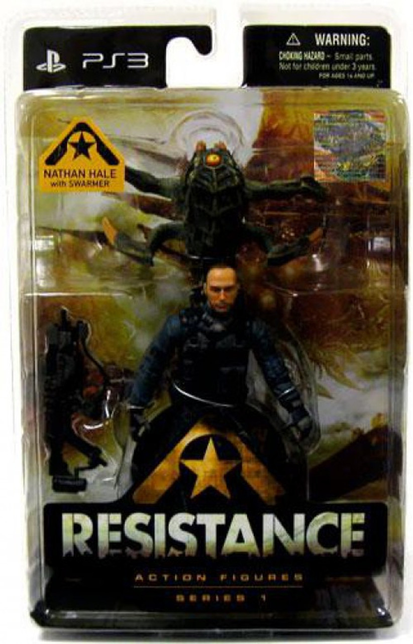 Resistance Series 1 Nathan Hale & Swarmer Action Figure