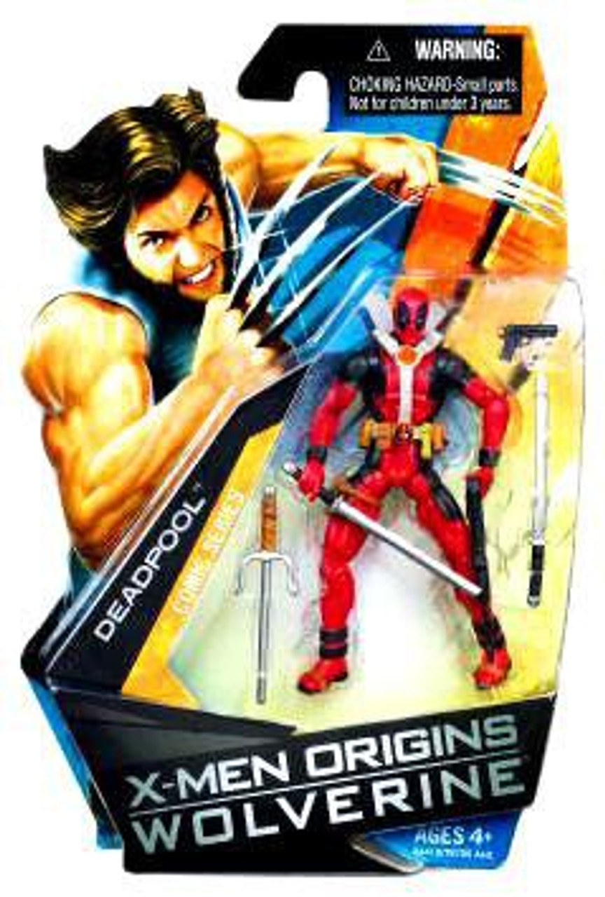 X-Men Origins Wolverine Wolverine Comic Series Deadpool Action Figure