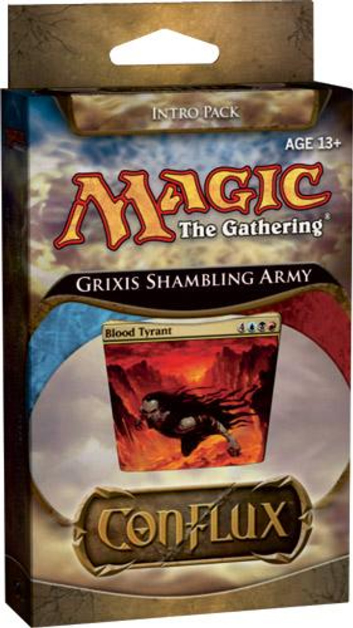 MtG Conflux Grixis Shambling Army Intro Pack [Sealed Deck]