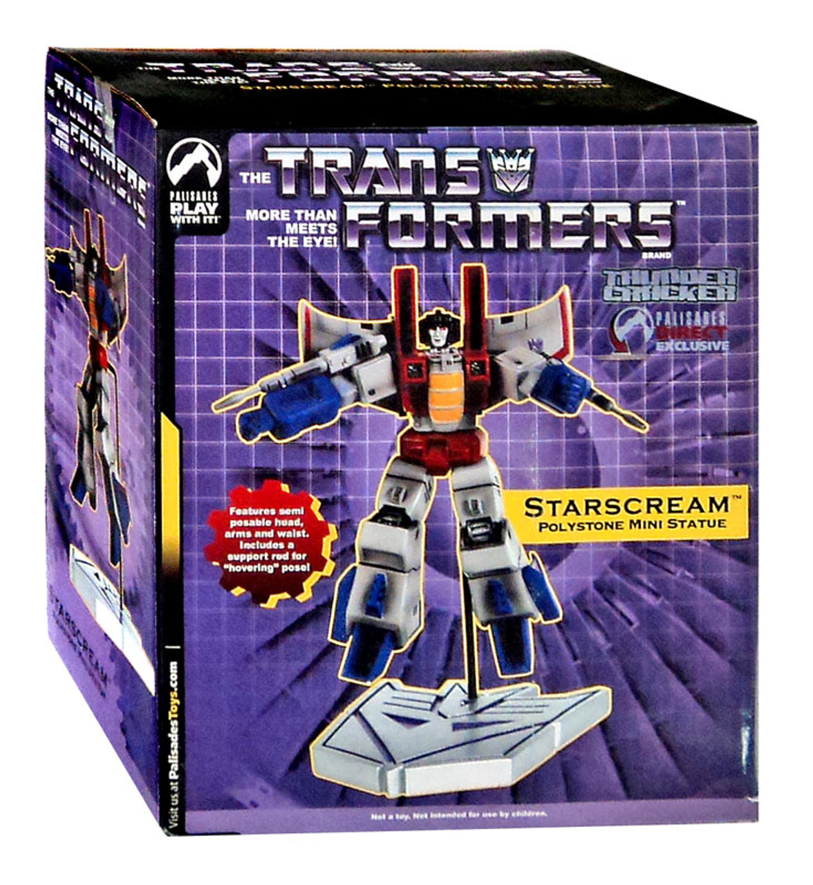 Transformers Statues & Busts Thundercracker Exclusive Mini Statue