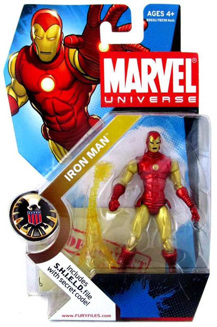 Marvel Universe Series 3 Iron Man Action Figure #21