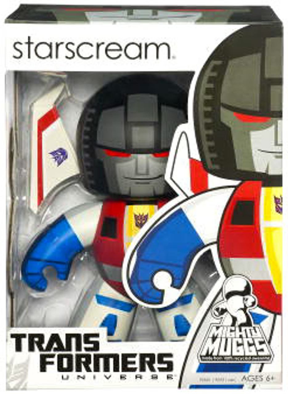 Transformers Universe Mighty Muggs Series 2 Starscream Vinyl Figure