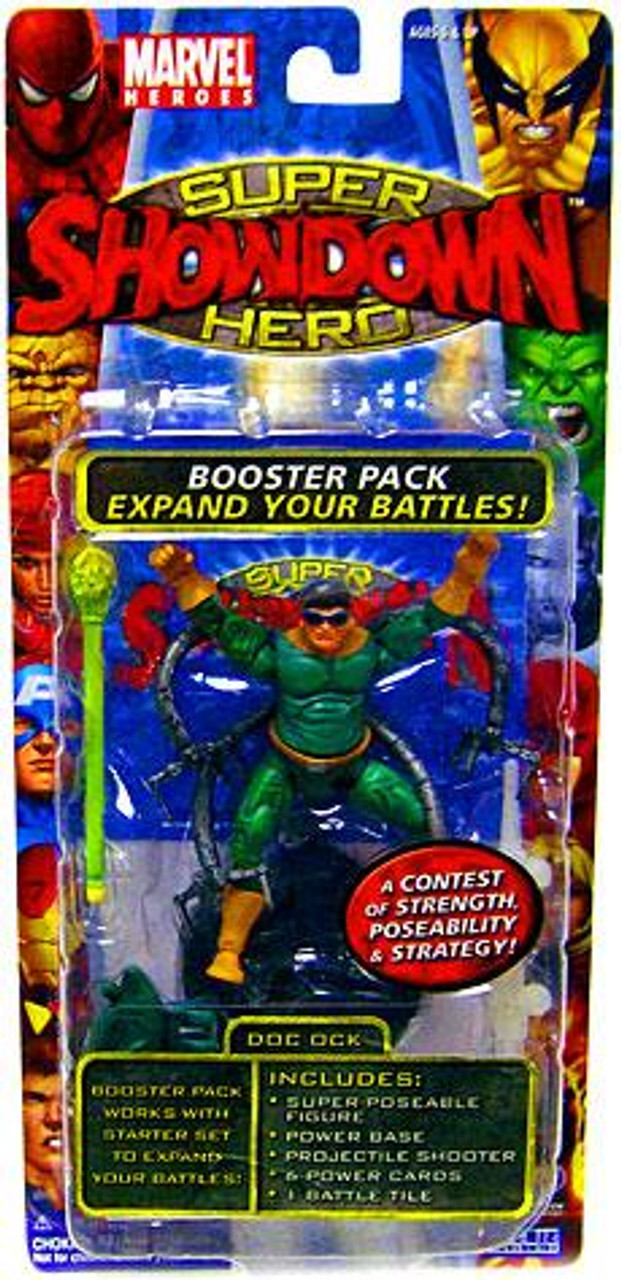 Marvel Heroes Super Hero Showdown Doc Ock Action Figure Booster Pack