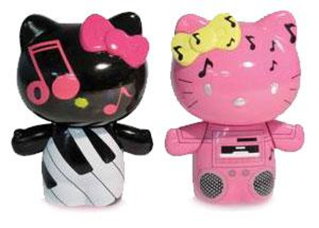 Hello Kitty Urban Vinyl Piano Kitty & Boom Box Mimmy Vinyl Figure 2-Pack