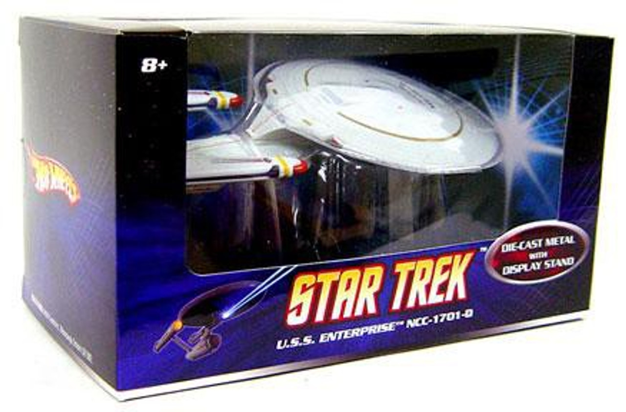 Star Trek The Next Generation Hot Wheels U.S.S. Enterprise NCC-1701-D Diecast Vehicle