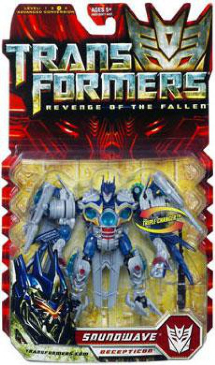 Transformers Revenge of the Fallen Soundwave Deluxe Action Figure