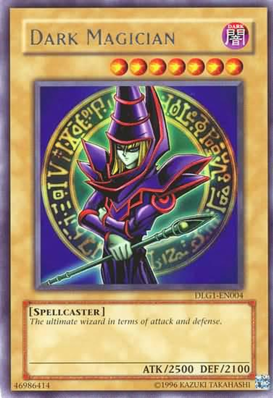 YuGiOh Dark Legends Rare Dark Magician DLG1-EN004