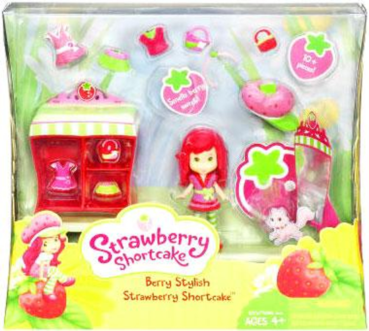 Berry Stylish Strawberry Shortcake Playset