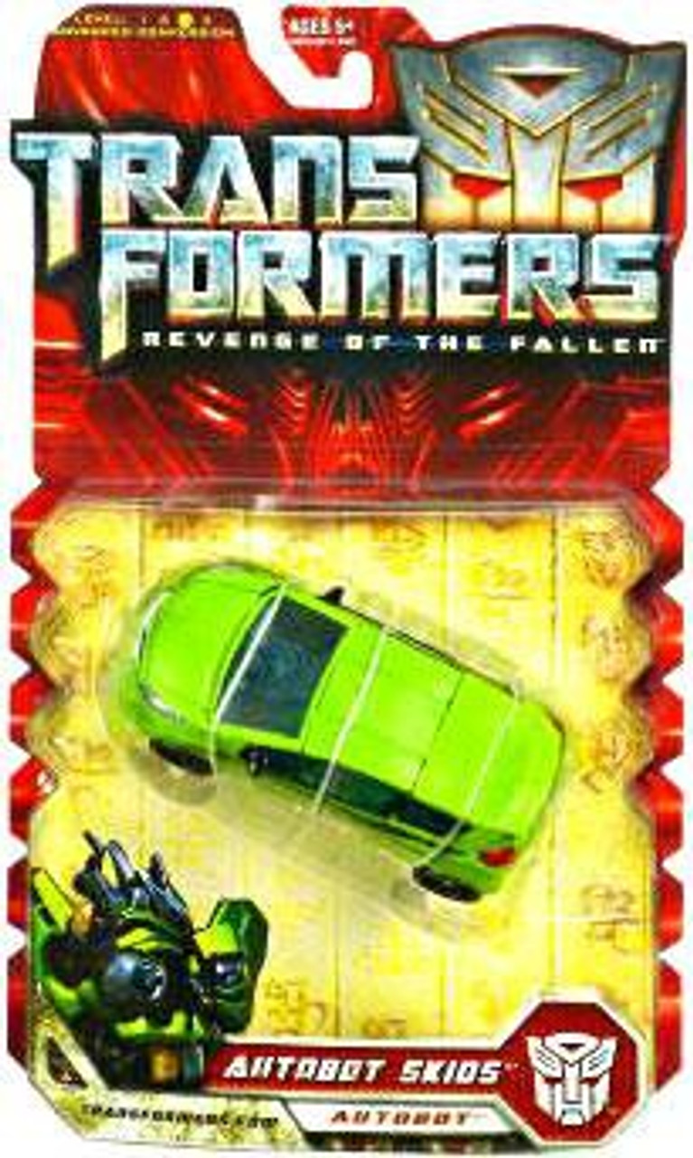 Transformers Revenge of the Fallen Autobot Skids Deluxe Action Figure