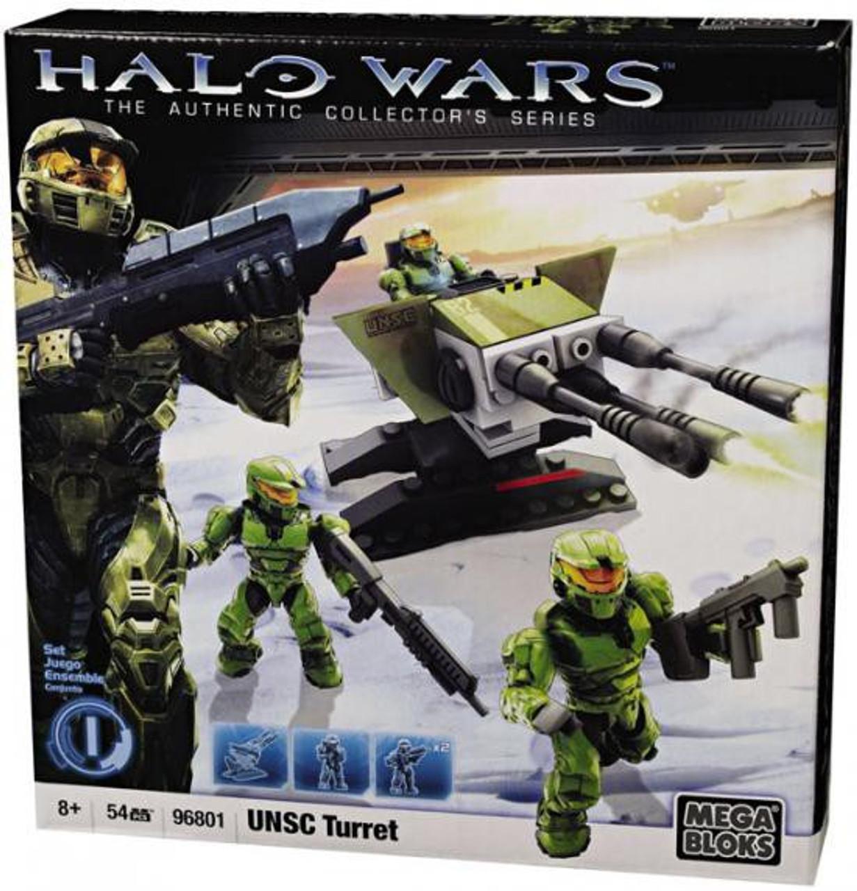 Mega Bloks Halo The Authentic Collector's Series UNSC Turret Set #96801