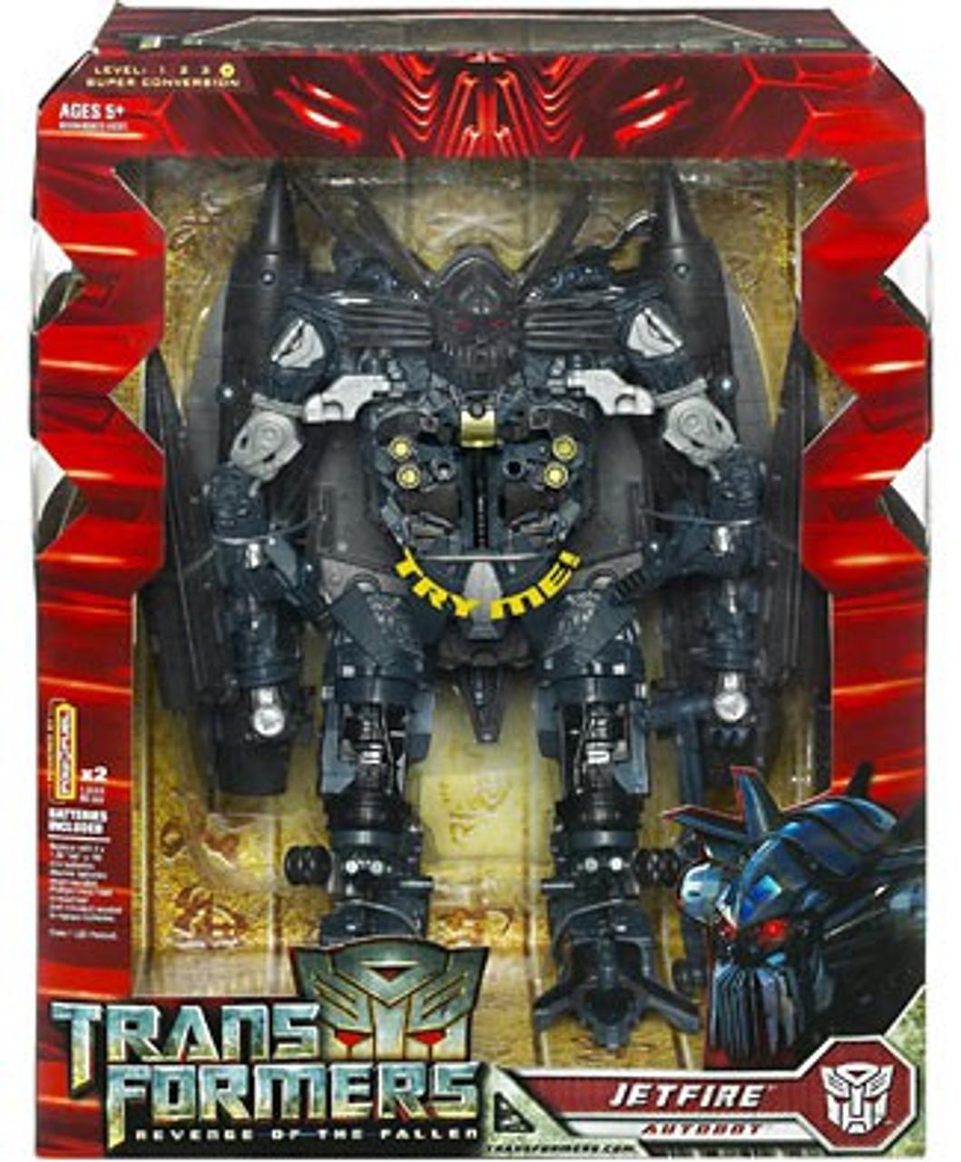 Transformers Revenge of the Fallen Jetfire Leader Action Figure [Electronic]