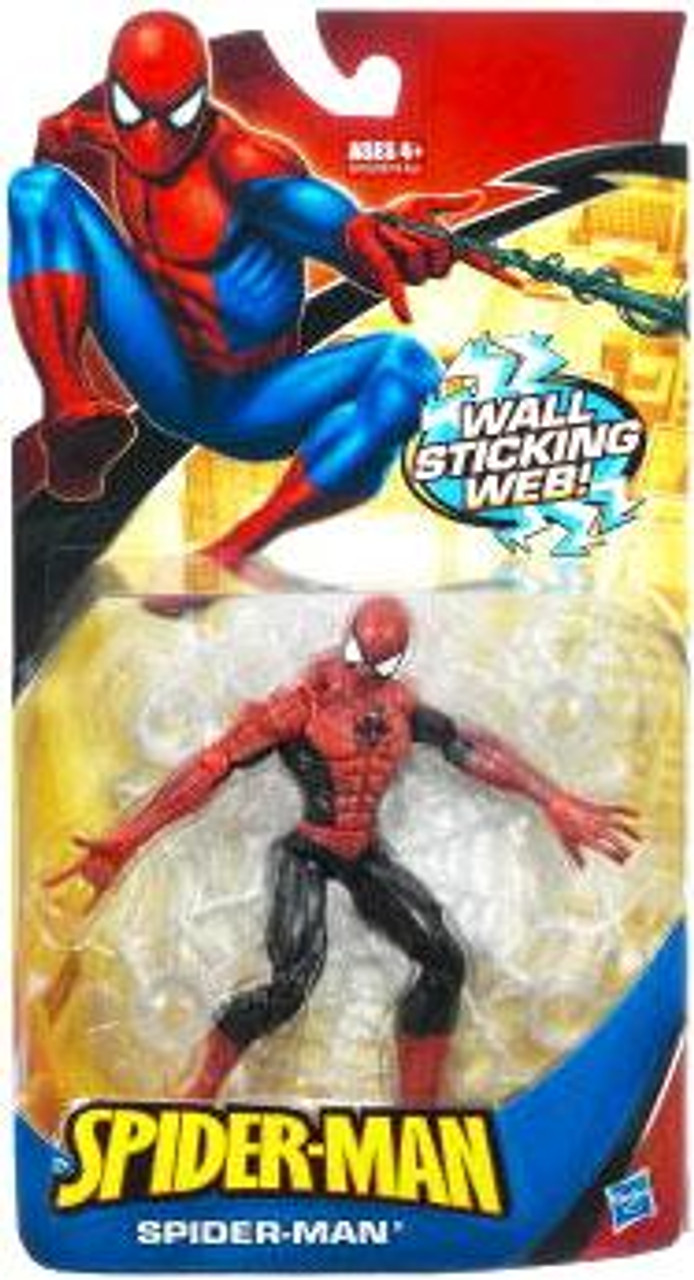 Classic Heroes Spider-Man Action Figure [Wall Sticking Web Red & Black]