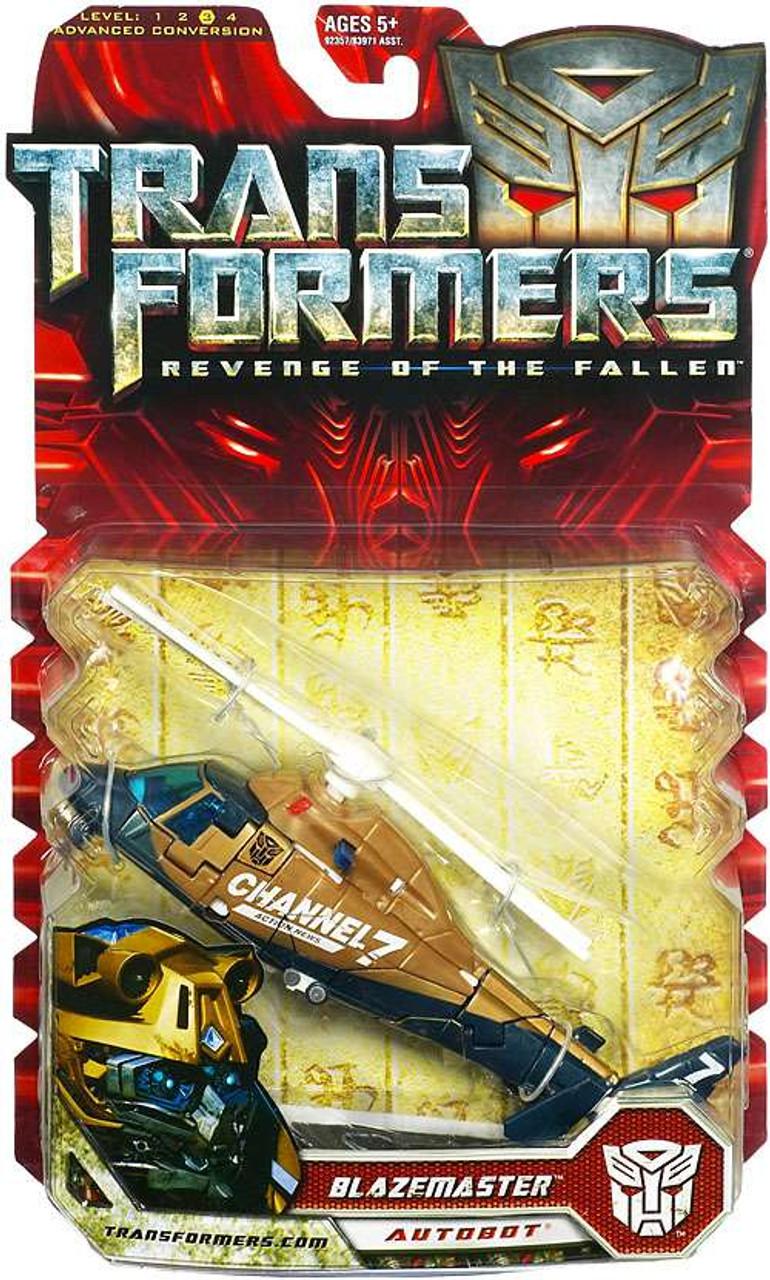 Transformers Revenge of the Fallen Blazemaster Deluxe Action Figure