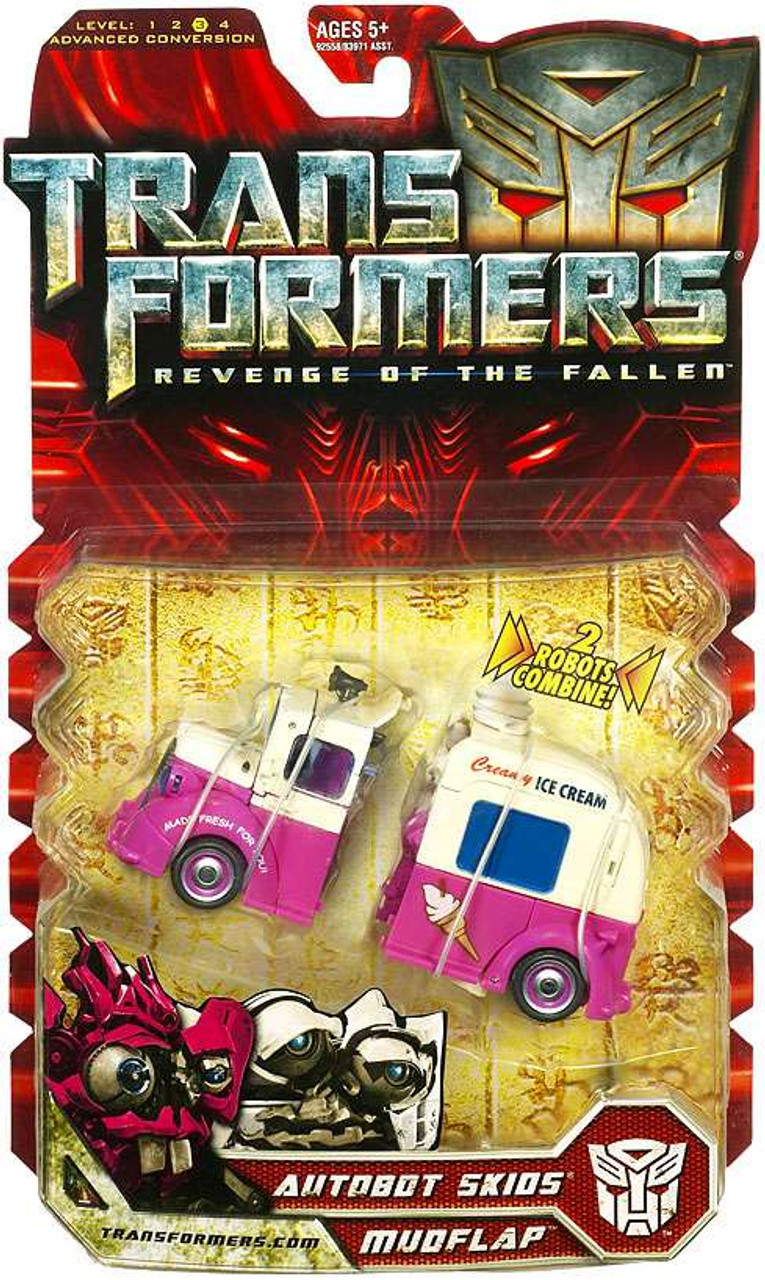 Transformers Revenge of the Fallen Autobot Skids & Mudflap Deluxe Action Figure 2-Pack